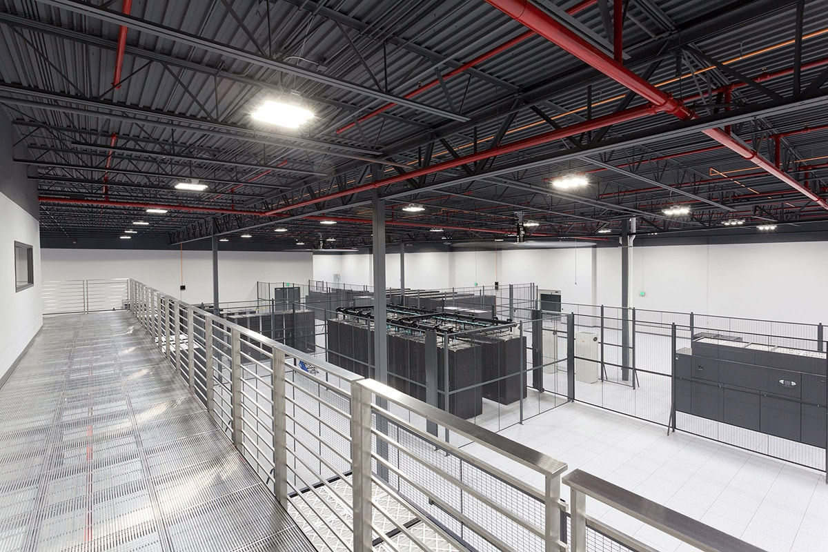 Granite Data Center : C granite point collocation data center big d construction