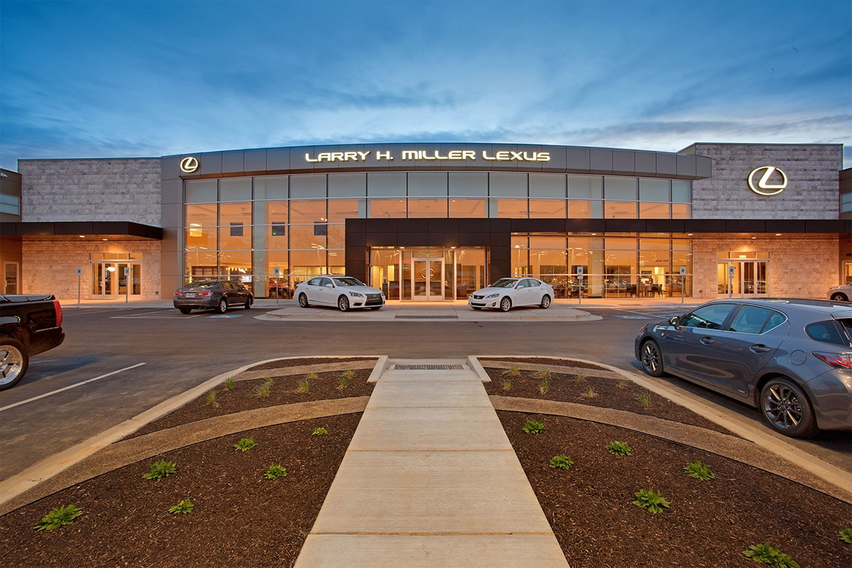 Larry Miller Lexus >> Larry H. Miller Lexus | Big-D Construction